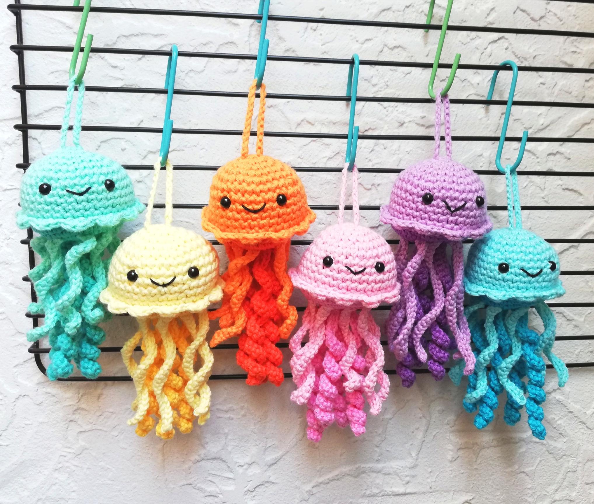FULL PATTERN: Kawaii Cute Jellyfish Crochet Pattern (direct ... | 1728x2035