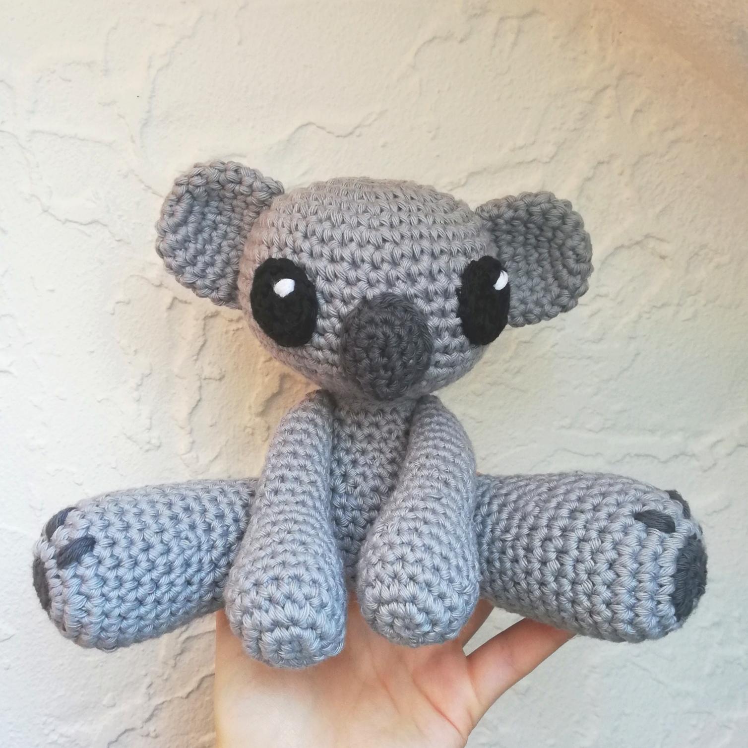 Amigurumi Koala Free Crochet Pattern | 1508x1508